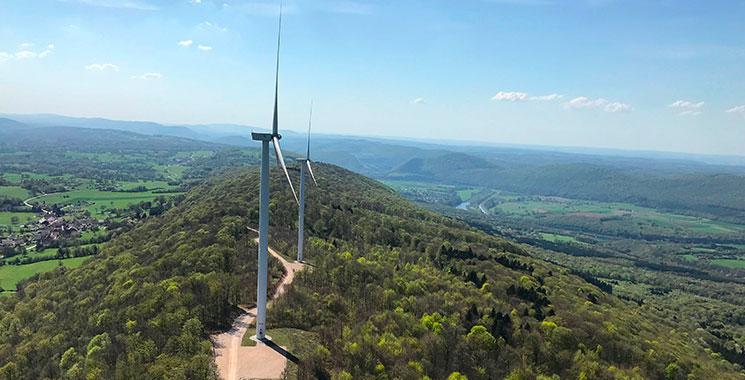 Parc éolien de Rougemont-Beaume - Velocita