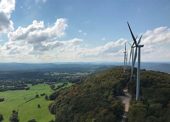 parc éolien de Lomont Corsey - Velocita