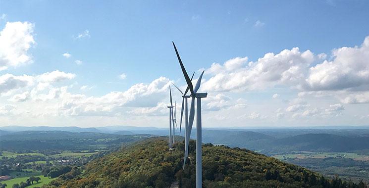 Parc éolien de Lomont Crosey - Velocita