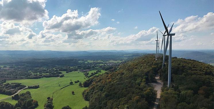 Parc éolien de Lomont Crosey