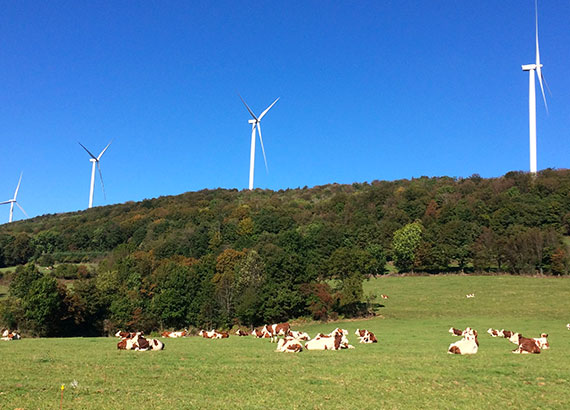 création Parc éolien de Lomont Vellerot