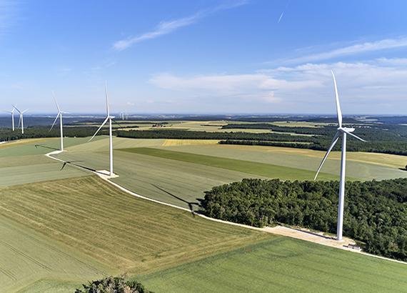 Parc éolien de Velocita Energies