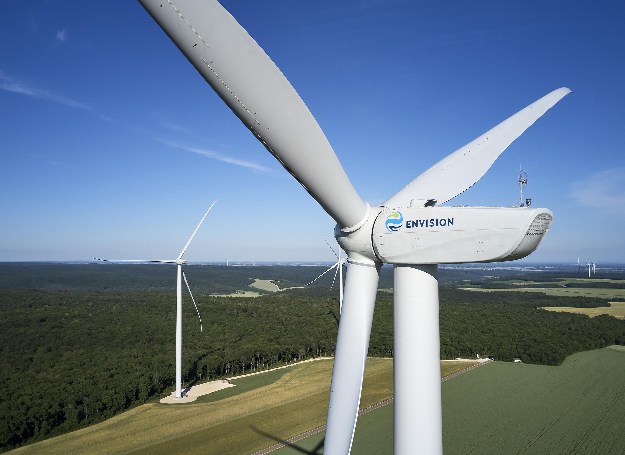 Envision turbines
