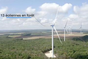 vidéo sur le parc éolien Entre Tille et Venelle