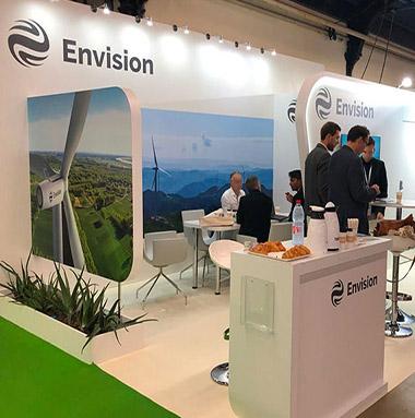 stand Envision au colloque national éolien